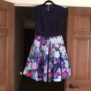 Ted Baker London midi dress size 3